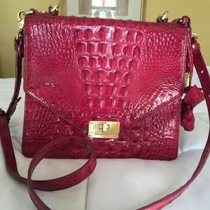 Brahmin Ophelia La Scalia Melbourne Pink Bag
